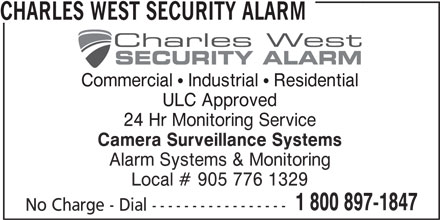Charles West Security Alarm Systems